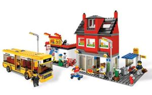 LEGO's City Corner set. Click photo to link to www.lego.com